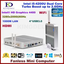 Factory price i5 mini pcs,8G Ram+128G SSD+640G HDD,3D gaming computer,Dual Core CPU Quad Threads Wifi, 4*USB 3.0 Port