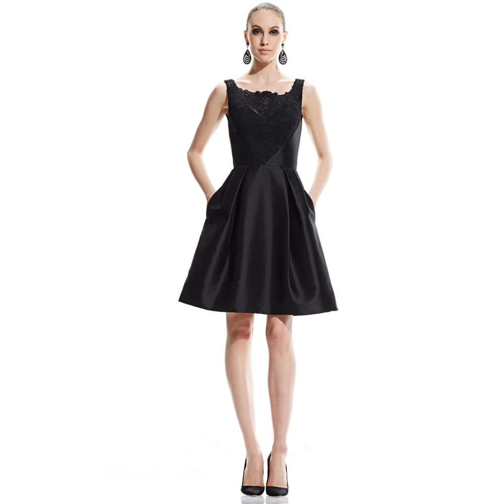 Little Black Dress With Pockets Cocktail Dresses 2016