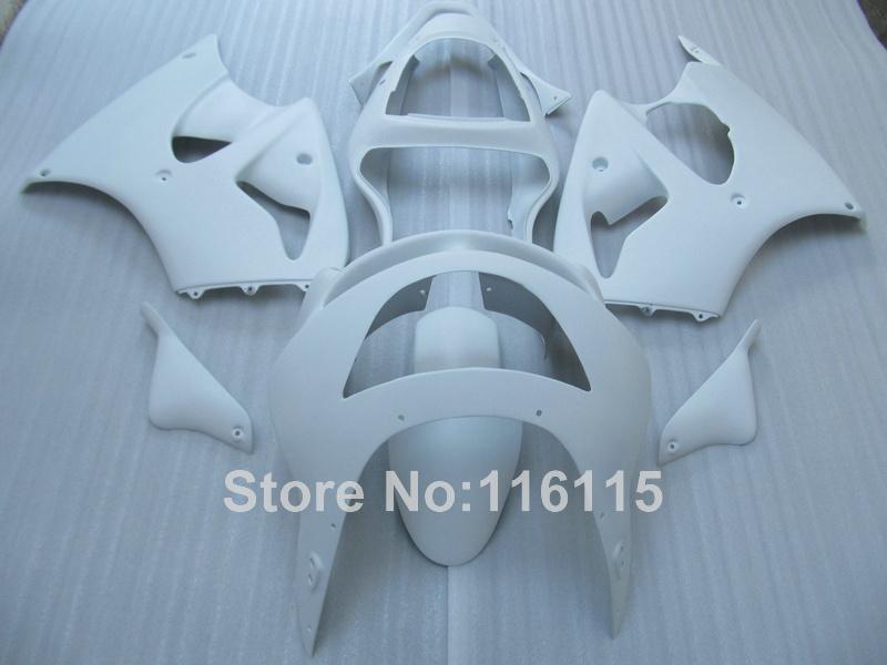 ABS full fairing kit for Kawasaki ZX6R 1998 1999 Ninja 636 ZX 6R 98 99 all glossy white bodywork fairings set PP2