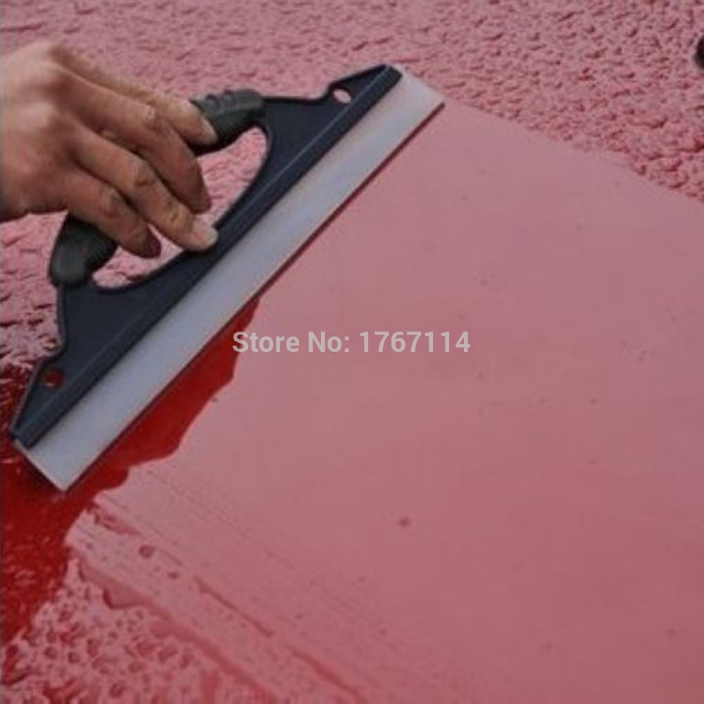 1 pcs High Quality Blue Car Soft Silicone Mobil Cuci Cleaner Wiper Squeegee Shower Kit Car Care Tool -m5(China (Mainland))