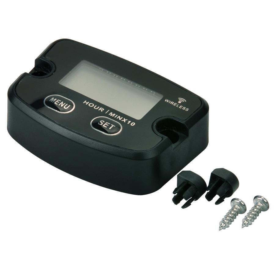Diesel Engine Hour Meter : Waterproof vibration wireless hour meter for motorbike
