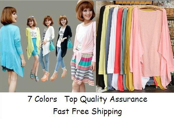 Promotion Ladies Candy Color cardigans Fashion Women Casual Cute Style knitted shirt Girl Sweet cape Clothes Sweaters - Shop312854 Store store