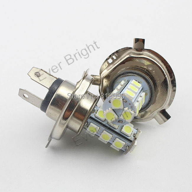 500pcs Car H4 5050 SMD 18 LED White Bulb Fog Beam Light Lamp free shipping via DHL/EMS(China (Mainland))
