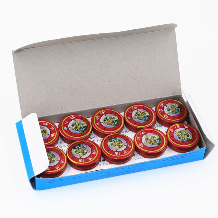 20pcs the tiger balm - Chinese Natural Herbal Massage Essential Oil for Muscle Massager, Pain Relief, Mosquito Bite, Headache