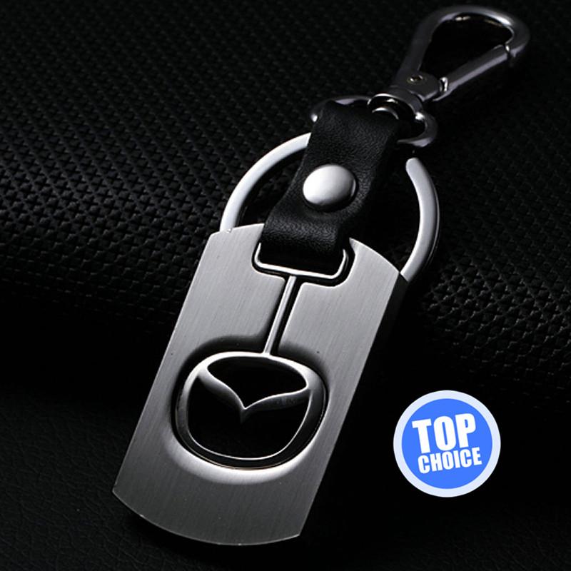 mazda car logo keychain keyrings car accessories emblem
