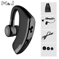 M J V9 Wireless Bluetooth headset Business Handsfree Noise Cancelling Headsets With Mic Stereo For Smartphones