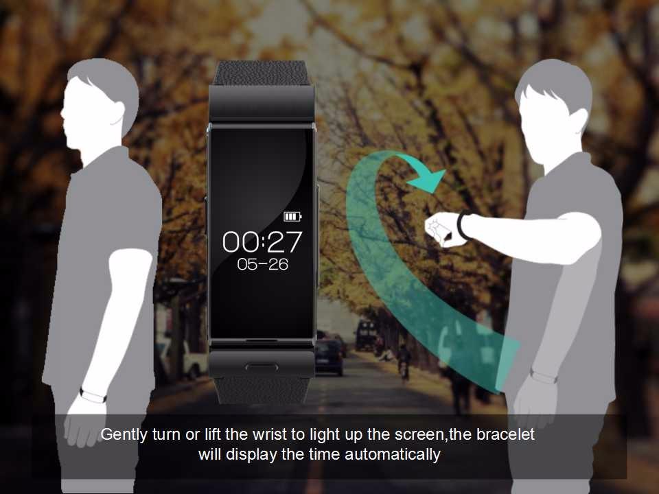 ถูก U watch U20 Uminiนาฬิกาสร้อยข้อมือสมาร์ท+หูฟัง/ชุดหูฟังMTK2502 H Eart Rate Monitorบลูทูธออกกำลังกายติดตาม