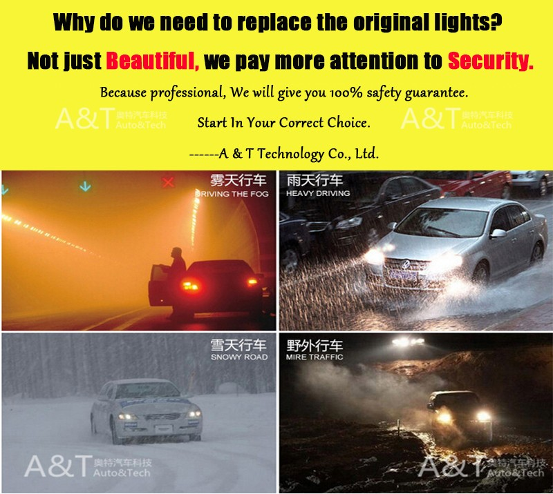 A&T car styling For Ford ranger LED DRL For ranger led fog lamps daytime running light High brightness guide LED DRL
