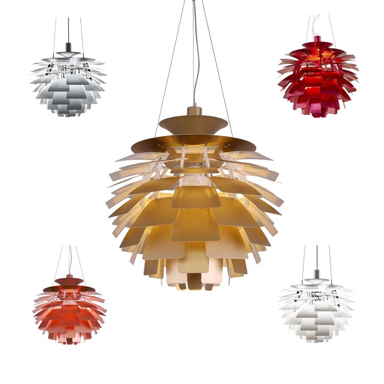 Red Artichoke Chandelier: Online Kopen Wholesale Artichoke Lamp Rood Uit China