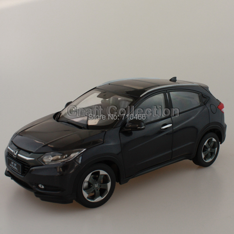 New 1:18 Honda Vezel HRV 2015 SUV Diecast Model Car World Premiere Exclusive Gifts Off Road Vehicle Cross Country Car(China (Mainland))