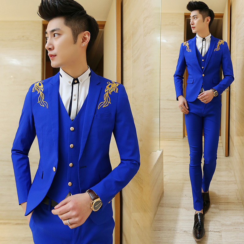 Compare Prices on Slim Royal Blue Tuxedo- Online Shopping/Buy Low ...