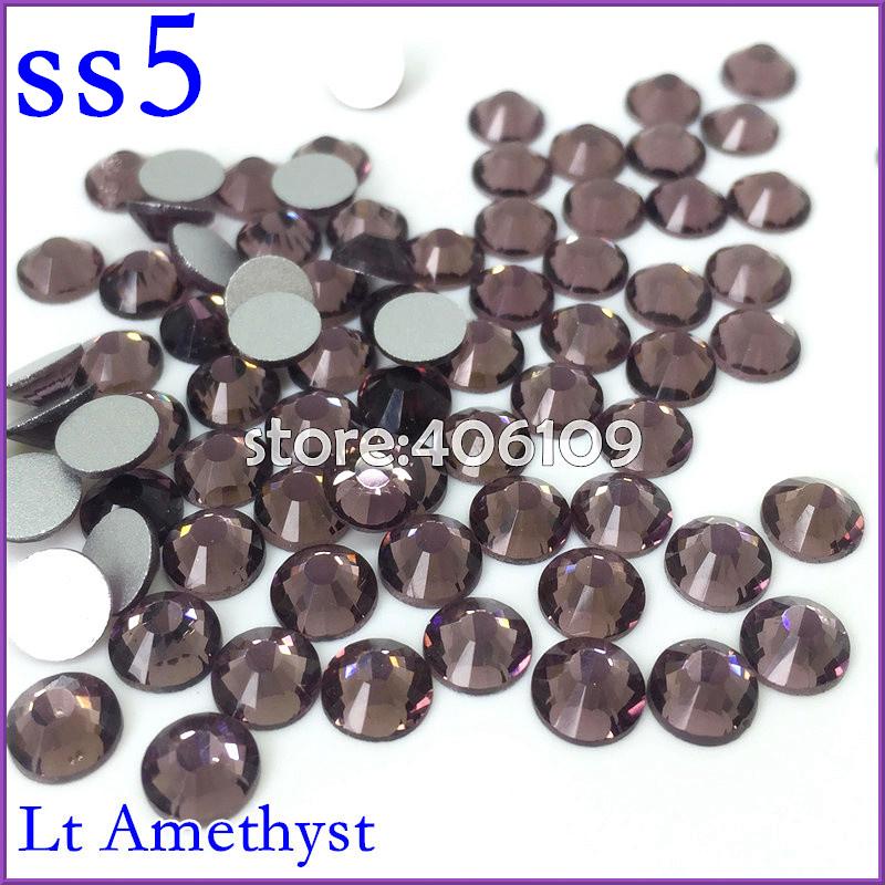 1440pcs/slot SS5 (1.7-1.8mm) Lt Amethyst Color Austria Glass Crystal Fashion Cut Round Rhinestones 3D Nail Art Decoration<br><br>Aliexpress