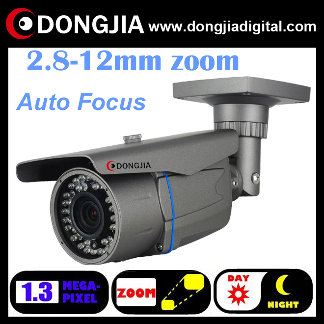DONGJIA outdoor waterproof ip web camera auto focus network onvif p2p with 2.8-12 zoom full hd ipcam 960p 1.3mp DJ-IPC-HD6120TRZ(China (Mainland))