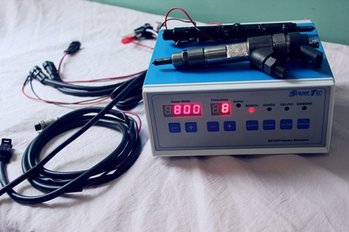 BST203 common rail injector tester + PS400A1 nozzle tester+ 70W ultrasonic bath