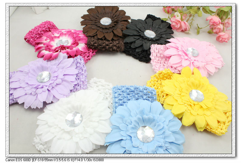 Fabric Elastic Headbands Headbands Elastic Fabric