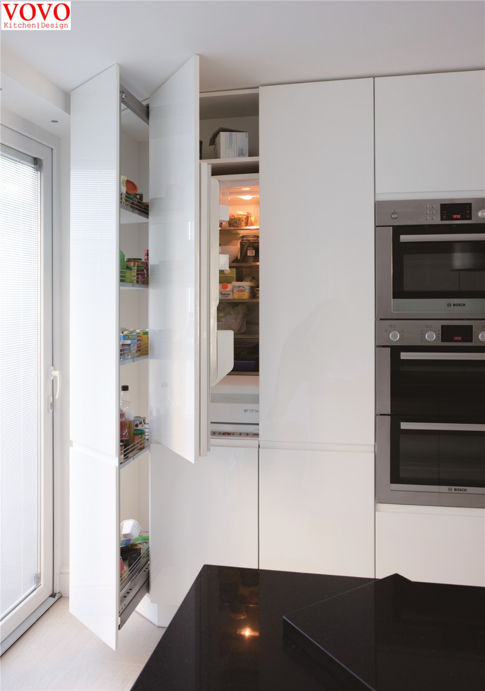 acquista all'ingrosso online armadio da cucina in stile moderno da ... - Moderni Stili Armadio Cucina