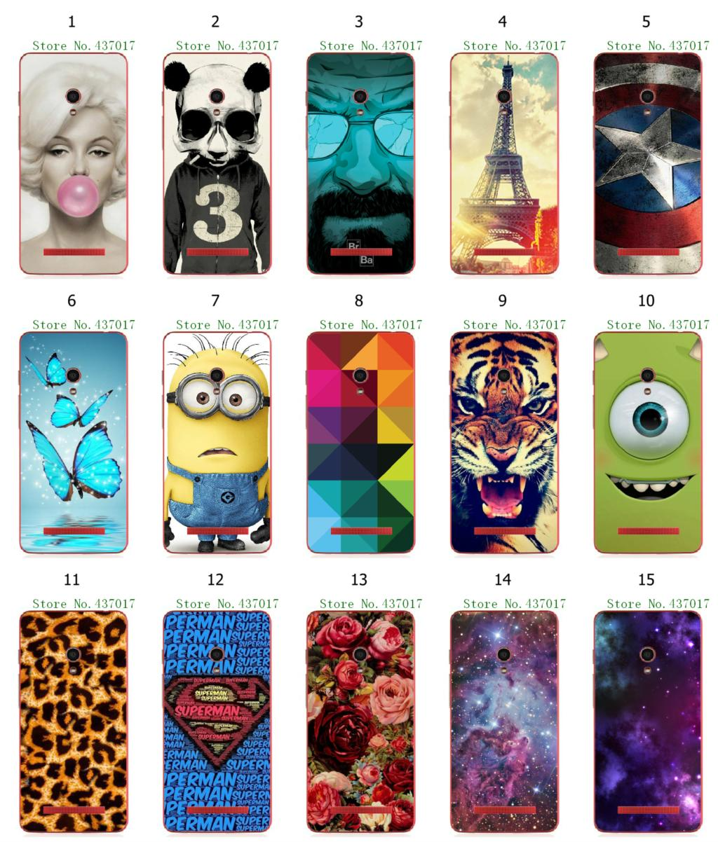 2015 new hot despicable rose flower eiffel tower white hard back cover cases Asus Zenfone 5 + - allmobilecase store