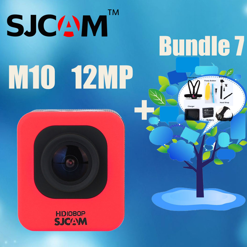 Various Accessories Avaliable!1.5 Original SJCAM M10 Portable Mini Underwater Camera Waterproof Sport Action HD Camera DVR<br><br>Aliexpress