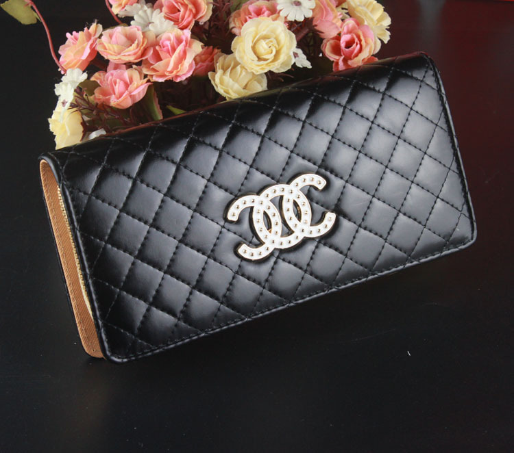 New Lady bags Candy Color Zipper Long Purse Wallet Female Leather Day Clutch Money Clip Card bag(China (Mainland))