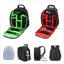 New Arrived Video Photo Bag Camera Backpack for Canon Nikon DSLR D3300 D3200 D3100 D5300 D5200 S1 J1 J2 J3 V1 V2 +Rain Cover(China (Mainland))