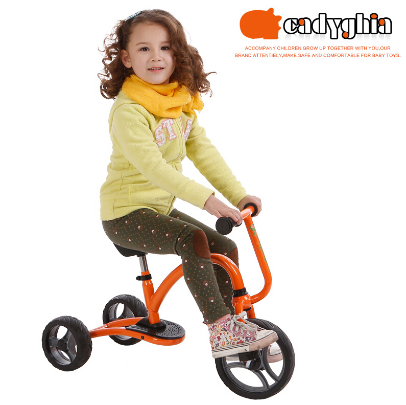 New children tricycle bike toy Tricycle bicycle carts 3-6 years old kindergarten tricycle buggies for baby toys(China (Mainland))