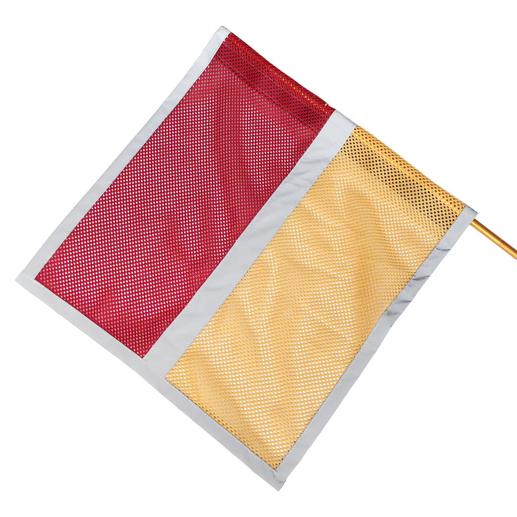 36 x 36 cm Safety Caution Flag Pole for Bike Trailer Bicycle Kayak Truck