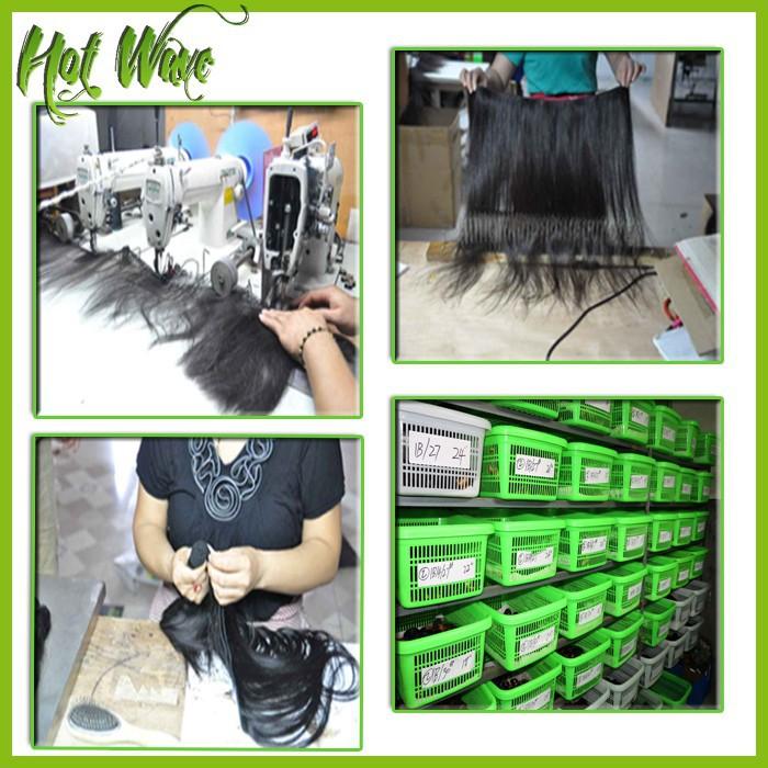 Full lace human hair wigs Brazilian Virgin Hair 3 Bundle Deals Superstar Hot Wave Hair Product X87