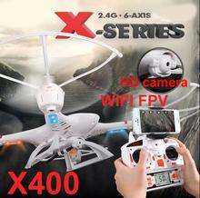 MJX X400 RC Helicopter 2.4G 4CH 6-Axis FPV R/C Quadcopter Remote Controll Drone With / Without FPV HD Camera Free Shippin