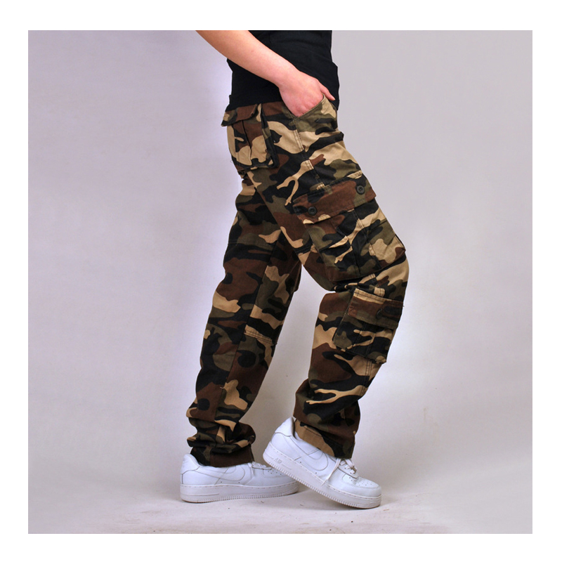 Militar camouflage Cargo casual Pants Men Combat SWAT Army fashion Military Cotton fashion cool camo Trousers camouflage cool