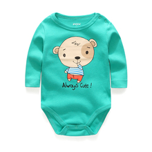 Free Shipping The New Round Collar Stripe Long Sleeves Cheap Baby Rompers Newborn Unisex Baby Clothes(China (Mainland))