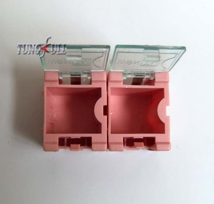fast shipping 40pcs SMD SMT component container storage boxes electronic case kit the 1# Automatically pops up patch box(China (Mainland))