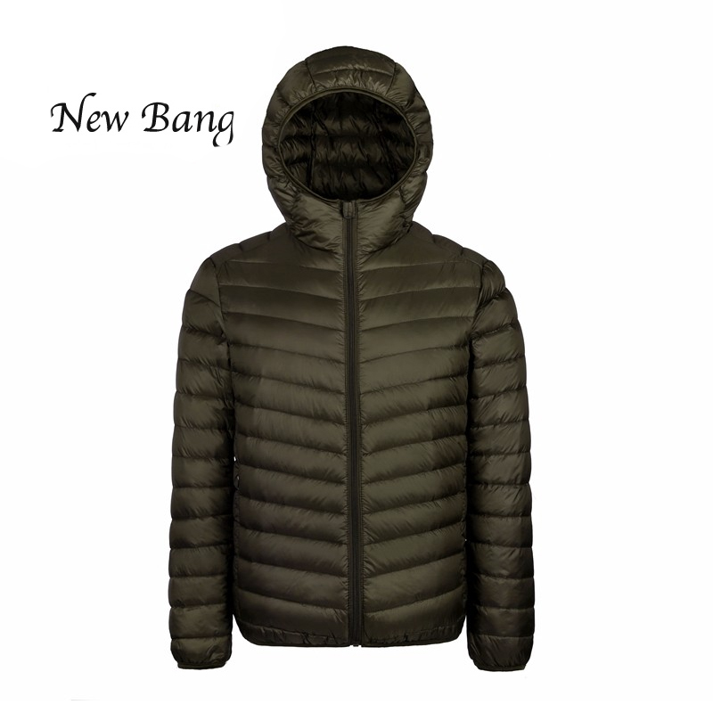 2016 Winter Jacket men 90 Duck Down Jacket Men Ultralight Down Jacket Outdoors Stand Collar Winter Parka With Carry Bag