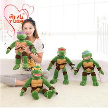 2015 New TMNT 40cm the Teenage Mutant Ninja Turtles Plush Toys Movies & TV Toys & Hobbies Free shipping(China (Mainland))