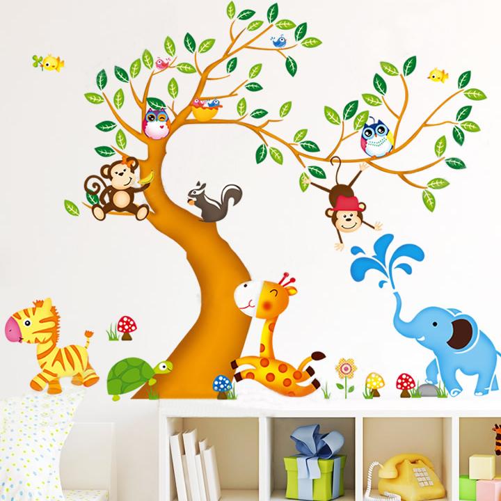 Compra owl tatuajes de pared online al por mayor de china - Pegatinas pared infantiles disney ...