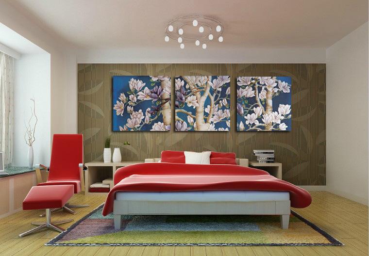 Quadro camera da letto moderno - Pittura camera da letto moderna ...