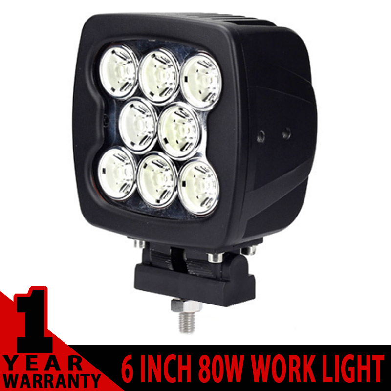 2013 New 5.5 80W High Power Led Offroad lamp CREE LED WORK LIGHT FOR OFF ROAD TRUCK Boat SUV 4X4 SPOT/FLOOD LED DRIVING LIGHT<br><br>Aliexpress