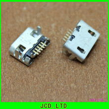 Buy 50pcs/lot,4 feet DIP 5P SMD Micro USB Connector V8 Port Charge Socket Micro USB Jack,Small Ox horn DIY repair mobile phone for $6.32 in AliExpress store