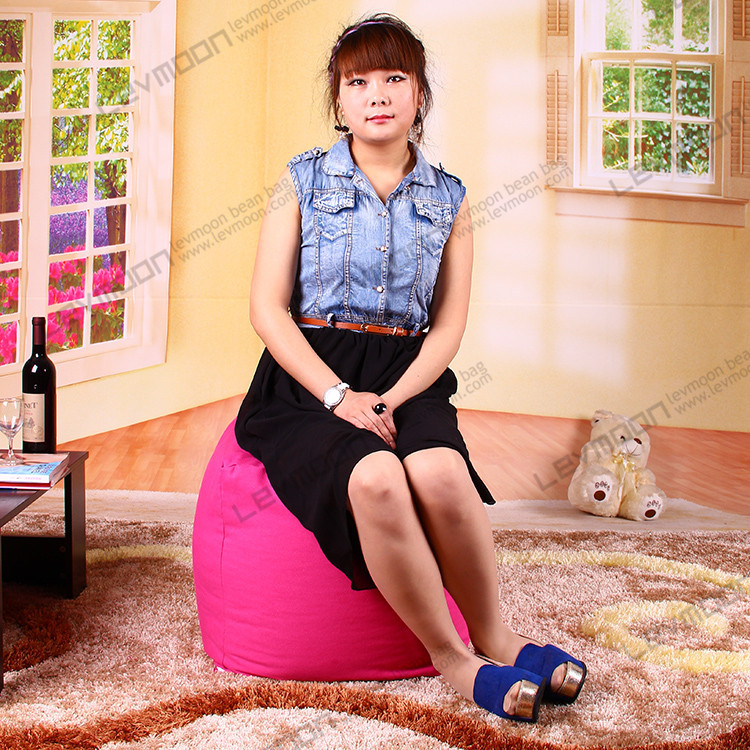 FREE SHIPPING small cube bean bag cover pattern best bean bag 100% cotton canvas the bean bag store(China (Mainland))
