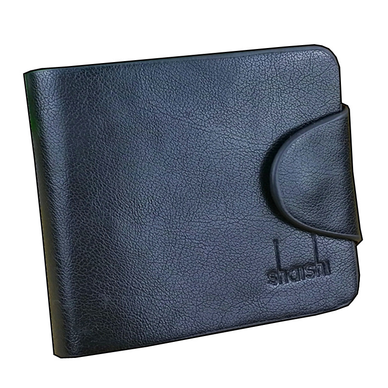 High quality Genuine Leather with PU Men Wallet purse for men Wholesale Fashion Leather men Wallets