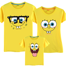 Family fashion summer tendrils beachwear summer short-sleeve T-shirt family clothes for mother and son family pack(China (Mainland))