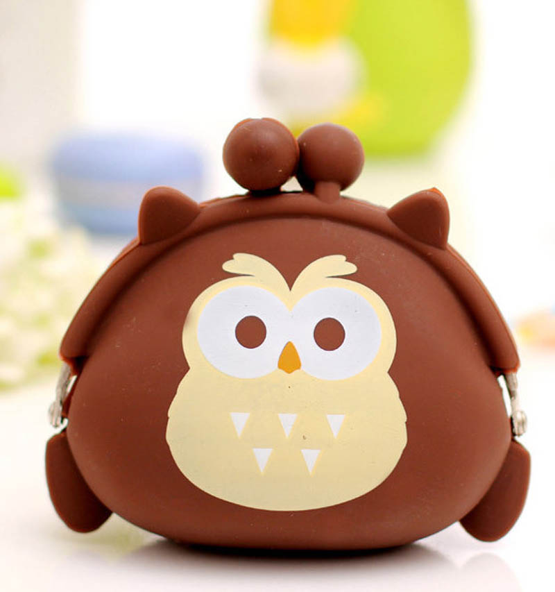 Good Quality Casual Children Bags Purse Nice Feeling Cute Owl Pouch Cheap Useful Lovely Popular Women's Wallet(China (Mainland))