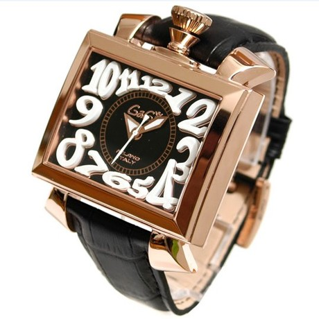 2014 new fashion women mechanical watch popular square case leather band multi-color ladies watches - Shenzhen D&T Fashion Shop store