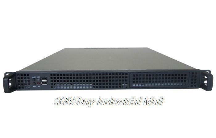 4 hard drive general motherboard 1u server computer case industrial computer case rack mount computer case(China (Mainland))