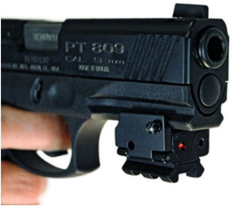 TAC Vector Optics Mini Red Laser Sight Dot Scope with 21mm Picaitinny Rail for Glock Ruger Compact Pistol Handgun Free Shipping(China (Mainland))