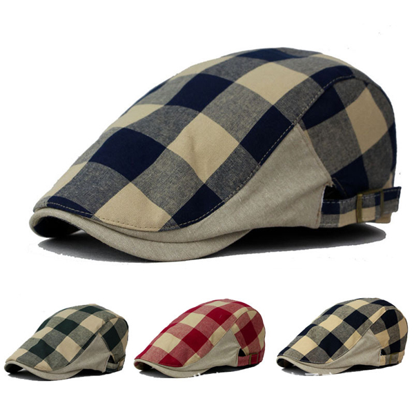 Visors 2015 new arrivals plaid snapback caps for women autumn cotton baseball caps High quality accessories(China (Mainland))