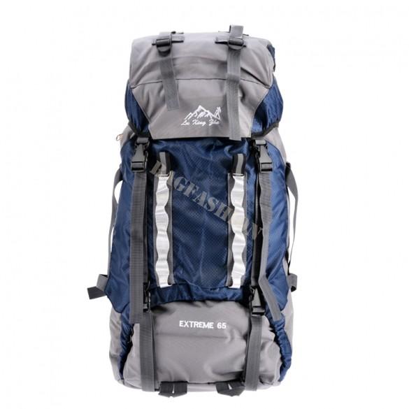 Sport Bags Men Women Unisex Travel Hiking Backpack Trekking Luggage Canvas Nylon Waterproof Rucksack 65L Outdoor shoulder Bag 54(China (Mainland))