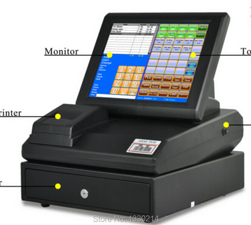 computer cashier machine