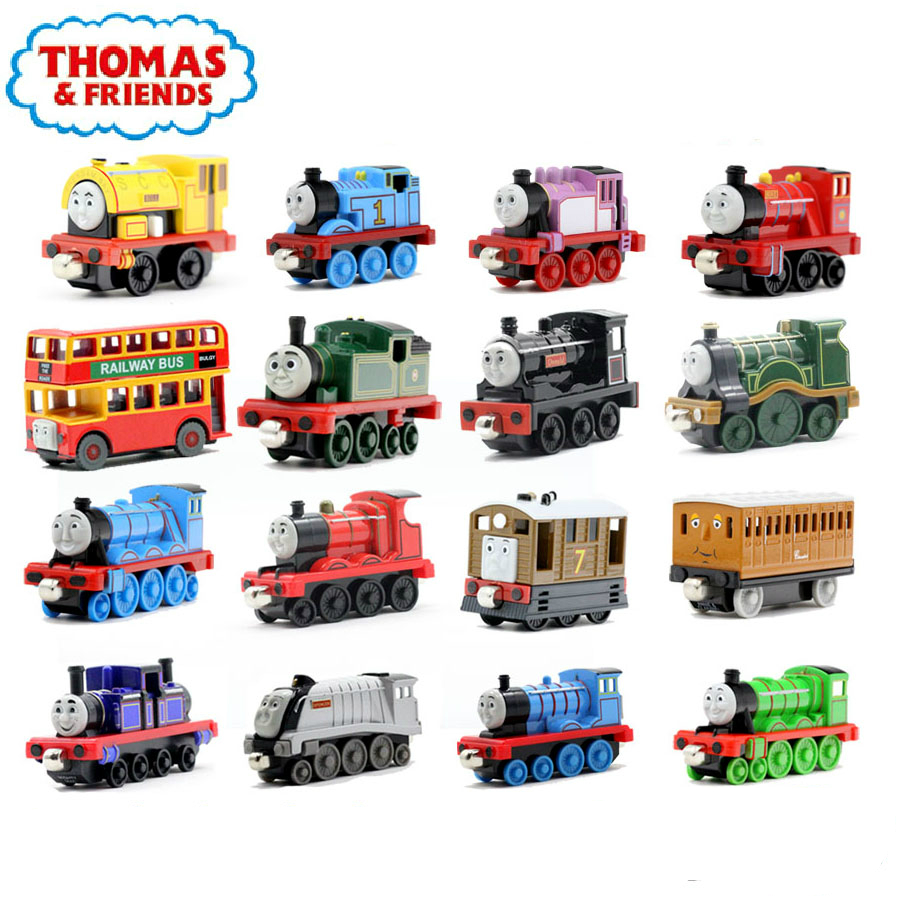 New One Piece Diecast Metal Thomas and Friends Train Megnetic Train Toy The Tank Engine Trackmaster Toys For Children Kids Gifts(China (Mainland))