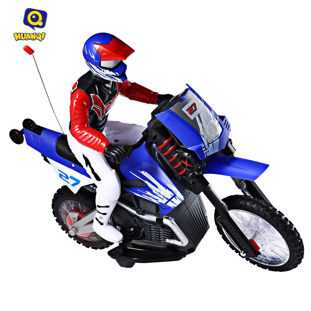 huanqi 528 35mhz rc motorcycle toys for kids new style plastic 4 channel with light music. Black Bedroom Furniture Sets. Home Design Ideas