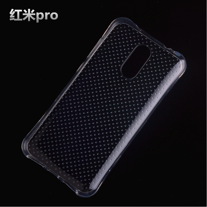 For xiaomi redmi PRO phone case Transparent protective cover Por Male 5.5 inches Anti-drop Airbag soft shell(China (Mainland))